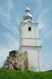 Christian church tower. Transylvania, Romania Stock Image