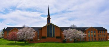 Christian Church vor Ostern stockfotos