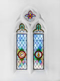 Christian church window Royalty Free Stock Photos