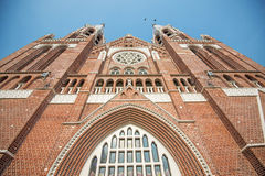 Christian Church in Yangon Royalty Free Stock Images