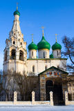 Christian church in Yaroslavl Royalty Free Stock Image