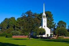 Christian Churh As Religious Symbol Royalty Free Stock Image