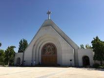 Christian Cinenary al cimitero immagine stock libera da diritti