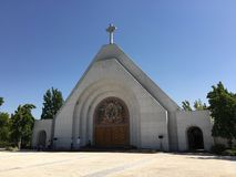 Christian Cinenary en el cementerio Imagen de archivo libre de regalías