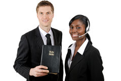Christian counsellors. This is an image of christian counselling team stock image