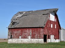 Christian County Barn Stock Images