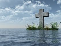 Christian cross Stock Photography