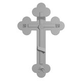 Christian Cross. Stock Photos