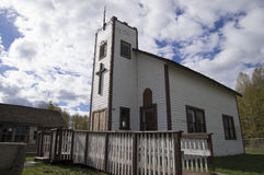 Christian Cross Church stock photos
