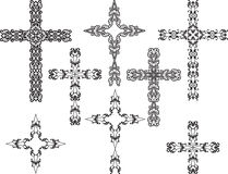 Christian Cross royalty free illustration