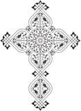 Christian Cross stock illustration