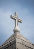Christian cross, concept of religion Royalty Free Stock Photography