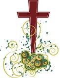 Christian Cross Design ilustración del vector