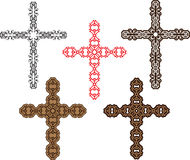 Christian Cross Design Foto de archivo