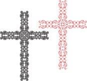 Christian Cross Design Stock Afbeeldingen
