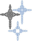 Christian Cross Design Stock Photo