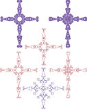 Christian Cross Design Royalty Free Stock Images