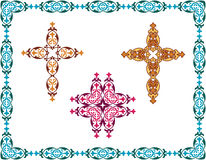 Christian Cross Design Royalty Free Stock Image