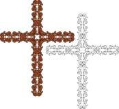 Christian Cross Design Stock Image