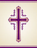 Traditional Christian Cross Royalty Free Stock Images