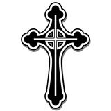 Christian cross. Illustration of the Christian cross as a symbol of faith Royalty Free Stock Photo