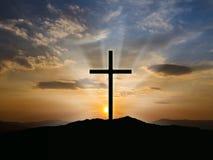 Christian cross image Stock Photography