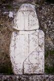 Christian Cross in Laodicea fotografie stock libere da diritti