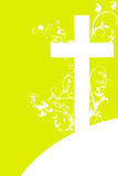 Christian cross and plant  4 Royalty Free Stock Photography