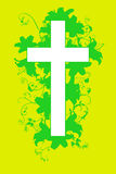Christian cross and plant  20 Stock Images