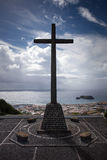 Christian Cross Portigal Azores Sao Miguel Stock Foto