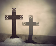 Christian cross Royalty Free Stock Photography