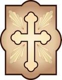 Christian Cross tradicional Fotografía de archivo libre de regalías