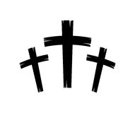 Christian crosses icon Royalty Free Stock Images