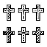 Christian crosses Royalty Free Stock Photo