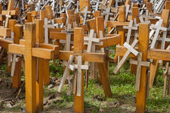 Christian crosses. Stock Images