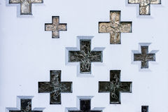 Christian crosses Stock Photo