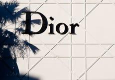 Christian Dior Royalty-vrije Stock Afbeeldingen
