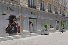 Christian Dior flagship store, Vienna, Austria Stock Images
