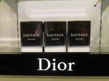 Christian Dior Sauvage Eau De Parfum perfume for men, in perfume shop January 15, 2020 in Russia, Kazan, Ibragimov Avenue 56