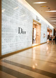 Christian Dior Shop Royalty Free Stock Image