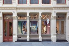 Christian Dior shop in Greene Street, in New York Stock Photos
