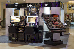 Christian Dior store in Siam Paragon Mall in Bangkok, Thailand. Royalty Free Stock Photo