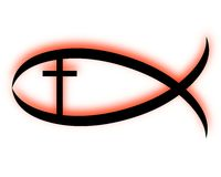 Christian fish Stock Photography