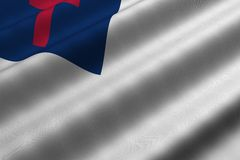 Christian Flag Royalty Free Stock Photos