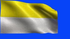 The Christian Flag, chruch flag - LOOP stock video