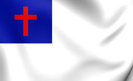 Christian Flag Stock Images
