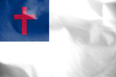 Christian Flag. Stock Image