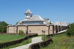 Christian fortified orthodox monastery royalty free stock photography