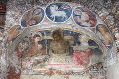 Christian fresco Stock Photo