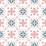 Christian geometric pattern seamless Royalty Free Stock Photos